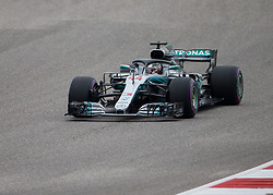 October 20, 2018 - Austin, USA - Mercedes AMG Petronas driver Lewis Hamilton (44) of Great Britain prepares to make Turn 2 during the third practice session at the Circuit of the Americas in Austin, Texas on Saturday, Oct. 20, 2018. (Credit Image: © Scott Coleman/ZUMA Wire)