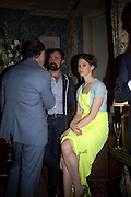 EVGENY LEBEDEV AND ELETTRA WIEDEMANN, Pre Bafta dinner hosted by Charles Finch and Chanel. Mark's Club. Charles St. London. 9 February 2008.  *** Local Caption *** -DO NOT ARCHIVE-© Copyright Photograph by Dafydd Jones. 248 Clapham Rd. London SW9 0PZ. Tel 0207 820 0771. www.dafjones.com.