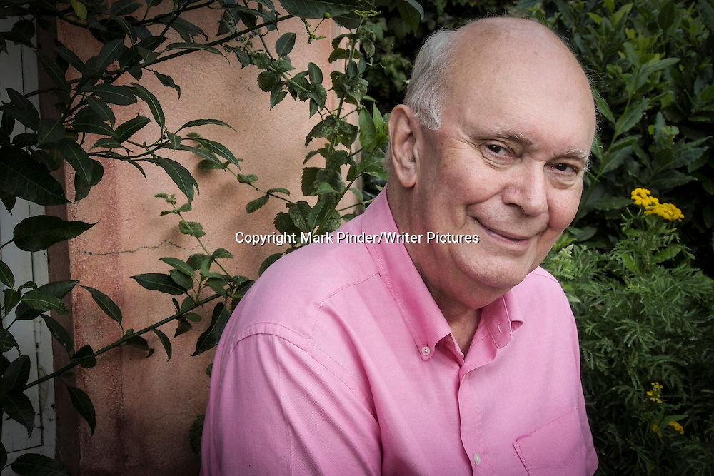 Alan Ayckbourn CBE at his home in Scarborough<br /> 28th August 2012<br /> <br /> Photograph by Mark Pinder/Writer Pictures<br /> <br /> WORLD RIGHTS