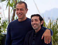 Director Matteo Garrone and actor Marcello Fonte at the Dogman film photo call at the 71st Cannes Film Festival, Thursday 17th May 2018, Cannes, France. Photo credit: Doreen Kennedy