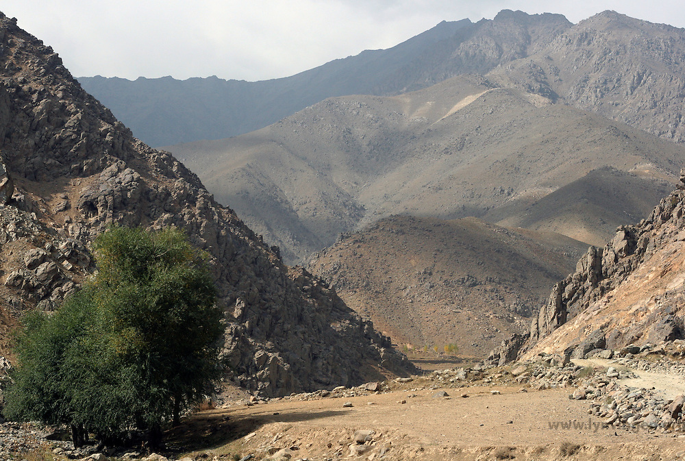 Parman valley, Afghanistan