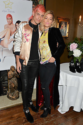 KYLE DE'VOLLE and RITA ORA at a dinner for JF London x Kyle DeVolle held at Beach Blanket Babylon, Ledbury Road, London on 29th September 2016.
