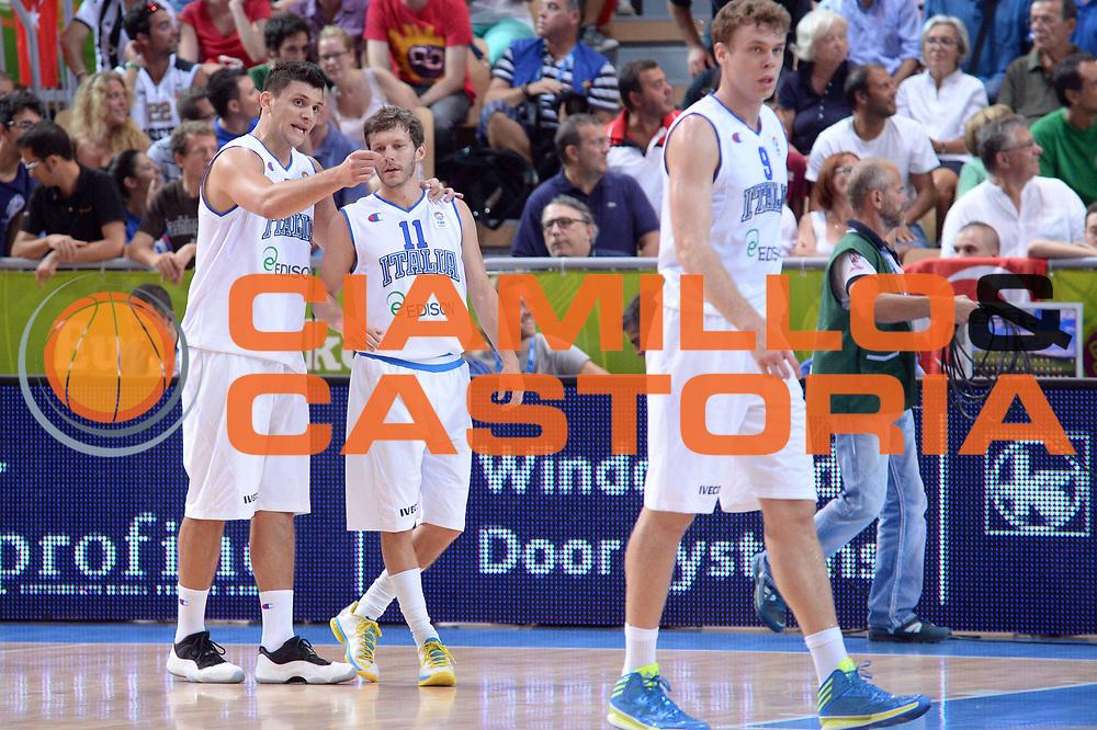 DESCRIZIONE : Capodistria Koper Slovenia Eurobasket Men 2013 Preliminary Round Turchia Italia Turkey Italy<br /> GIOCATORE : Alessandro Gentile Travis Diener<br /> CATEGORIA : Tecnica<br /> SQUADRA : Italia<br /> EVENTO : Eurobasket Men 2013<br /> GARA : Turchia Italia Turkey Italy<br /> DATA : 05/09/2013 <br /> SPORT : Pallacanestro&nbsp;<br /> AUTORE : Agenzia Ciamillo-Castoria/Max.Ceretti<br /> Galleria : Eurobasket Men 2013 <br /> Fotonotizia : Capodistria Koper Slovenia Eurobasket Men 2013 Preliminary Round Turchia Italia Turkey Italy<br /> Predefinita :