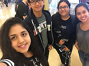 These four HISD students won an all-expenses-paid trip to D.C. to participate in a weeklong seminar, thanks to their winning essays for The National Society of the Colonial Dames of America.