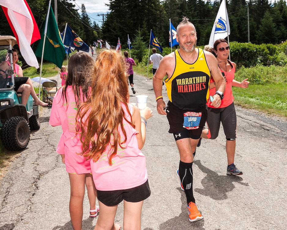 Great Cranberry Island Ultra 50K road race: David Holder