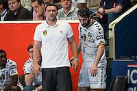 Arnaud Calbry / Mohamed Mokrani - 14.05.2015 - PSG / Dunkerque - 23eme journee de D1<br /> Photo : Andre Ferreira / Icon Sport