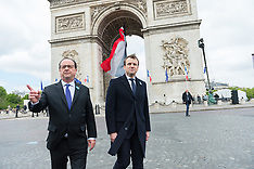 Paris: WWII Victory Celebrations - 8 May 2017