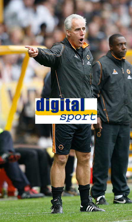 Photo: Steve Bond.<br />Wolverhampton Wanderers v Coventry City. Coca Cola Championship. 06/10/2007. Mick McCarthy gives instructions