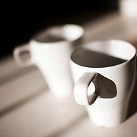 Couple of coffee mugs, Seville, Spain