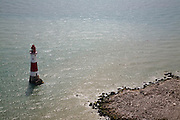 Lighthouse at Beachy Head, Sussex, England