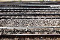 View of railway tracks