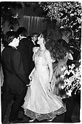 Trini Woodall dancing. Judith Stevens dance. Claridge's. 21 July 1982. . © Copyright Photograph by Dafydd Jones 66 Stockwell Park Rd. London SW9 0DA Tel 020 7733 0108 www.dafjones.com