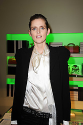 STELLA TENNANT at a party hosted by Prada to celebrate launch of a book documenting the company's diverse projects in fashion, architecture, film and art held at their store 16/18 Old Bond Street, London on 19th November 2009.