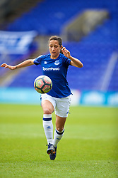 BIRKENHEAD, ENGLAND - Sunday, April 29, 2018: Everton's Courtney Sweetman-Kirk during the FA Women's Super League 1 match between Liverpool FC Ladies and Everton FC Ladies at Prenton Park. (Pic by David Rawcliffe/Propaganda)