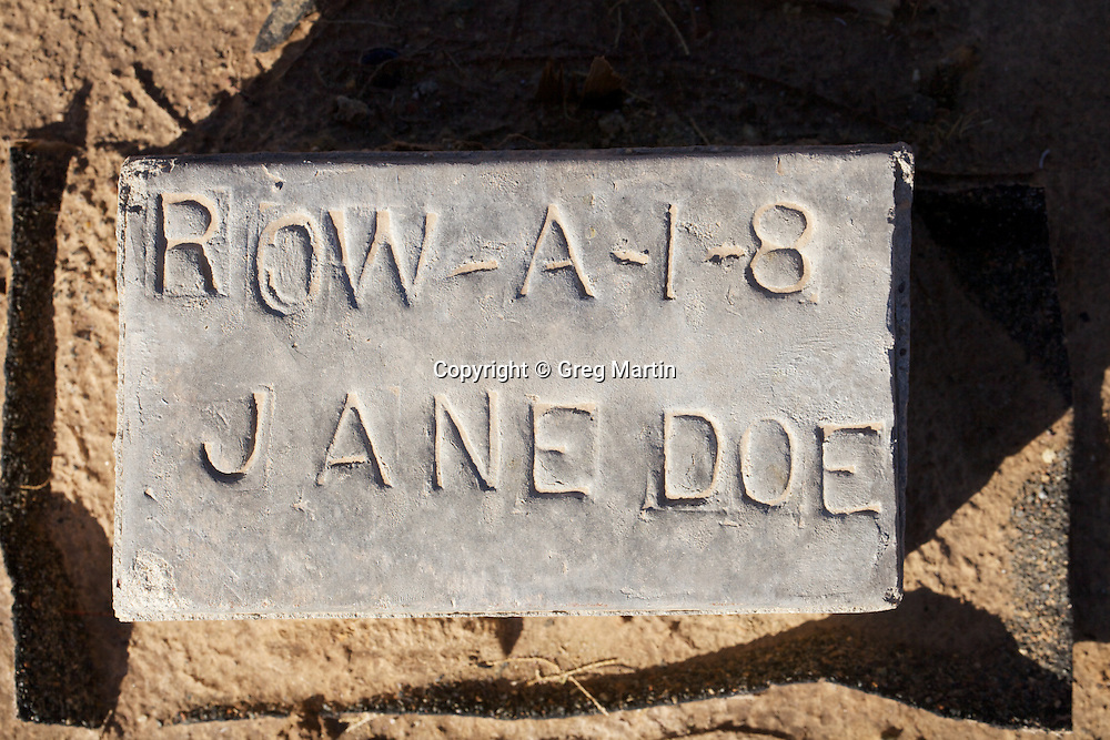 Jane Doe, Paupers Cemetery, Holtville, CA
