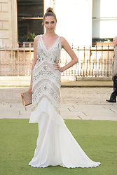 Image ©Licensed to i-Images Picture Agency. 04/06/2014. London, United Kingdom. Amber LeBon attends the The Royal Academy Of Arts Summer Exhibition. . Picture by Chris Joseph / i-Images