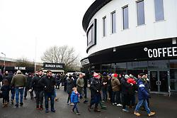 Bristol City fans arrive for the game against Sheffield Wednesday - Mandatory by-line: Dougie Allward/JMP - 03/03/2018 - FOOTBALL - Ashton Gate Stadium - Bristol, England - Bristol City v Sheffield Wednesday - Sky Bet Championship