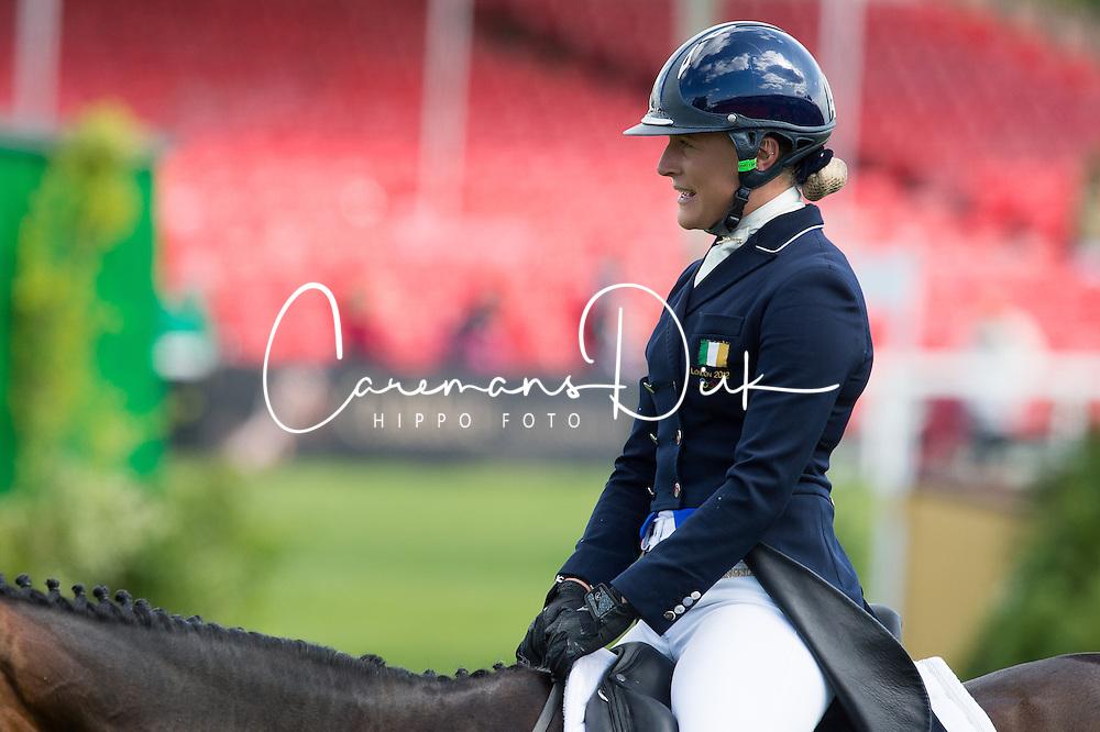 Speirs Camilla, (IRL), Portersize Just a Jiff<br /> Dressage <br /> Mitsubishi Motors Badminton Horse Trials - Badminton 2015<br /> &copy; Hippo Foto - Jon Stroud<br /> 07/05/15