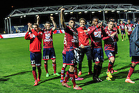 JOIE DE CLERMONT - 03.04.2015 - Clermont / Angers - 30e journee Ligue 2<br /> Photo : Jean Paul Thomas / Icon Sport