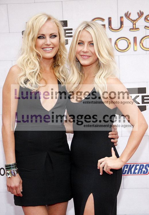 Malin Akerman and Julianne Hough at the 2012 Spike TV's Guys Choice Awards held at the Sony Studios in Culver City on June 2, 2012. Credit: Lumeimages.com