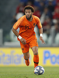 Tonny Vilhena of Holland during the International friendly match between Italy and The Netherlands at Allianz Stadium on June 04, 2018 in Turin, Italy