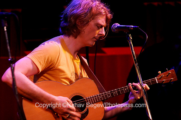 Fionn O Lochlainn performing at Joe's Pub on June 15, 2007....©Rahav Segev/Retna ltd