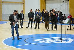 Opening event of Sports hall Baza, on January 8, 2018 in Sports hall Baza, Ljubljana, Slovenia. Photo by Ziga Zupan / Sportida
