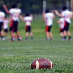 Staff photos by Tom Kelly IV<br /> Penncrest football practice on Tuesday August 26, 2014.