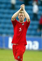Fotball, 27. mai 2004, Privatlandskamp, Norge - Wales 0-0,  Ben Thatcher, Wales