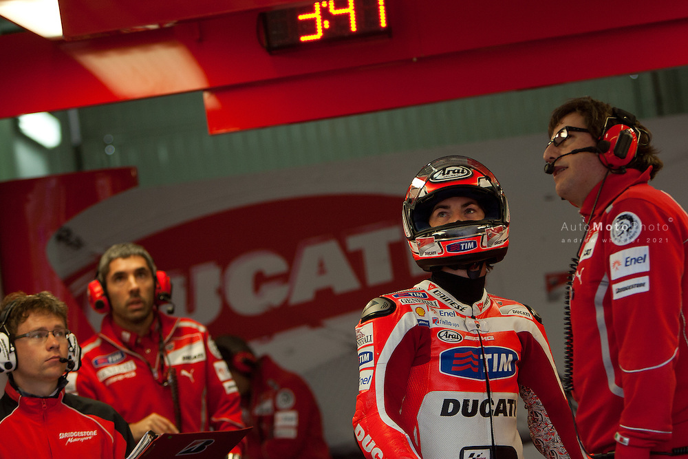 2011 MotoGP World Championship, Round 18, Valencia, Spain, 6 November 2011, Nicky Hayden