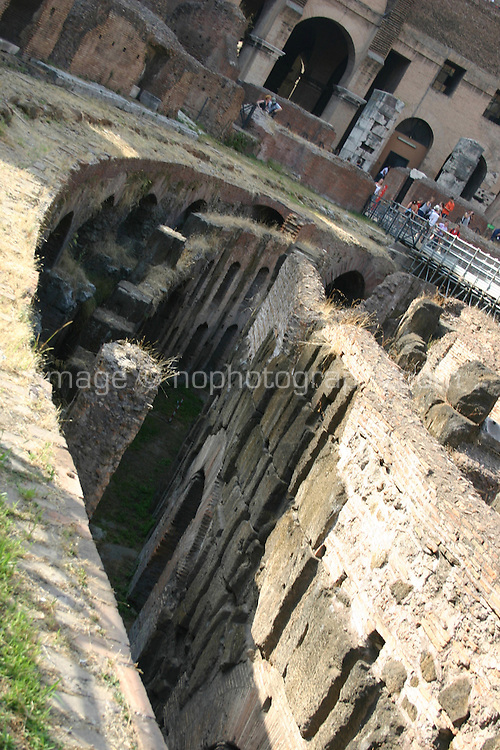 The Colosseum historic monument, Rome Italy<br />