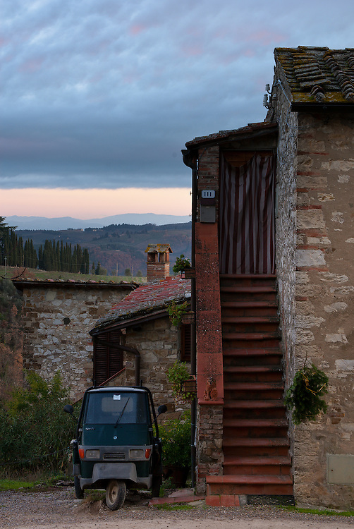 A small home in Tuscany.