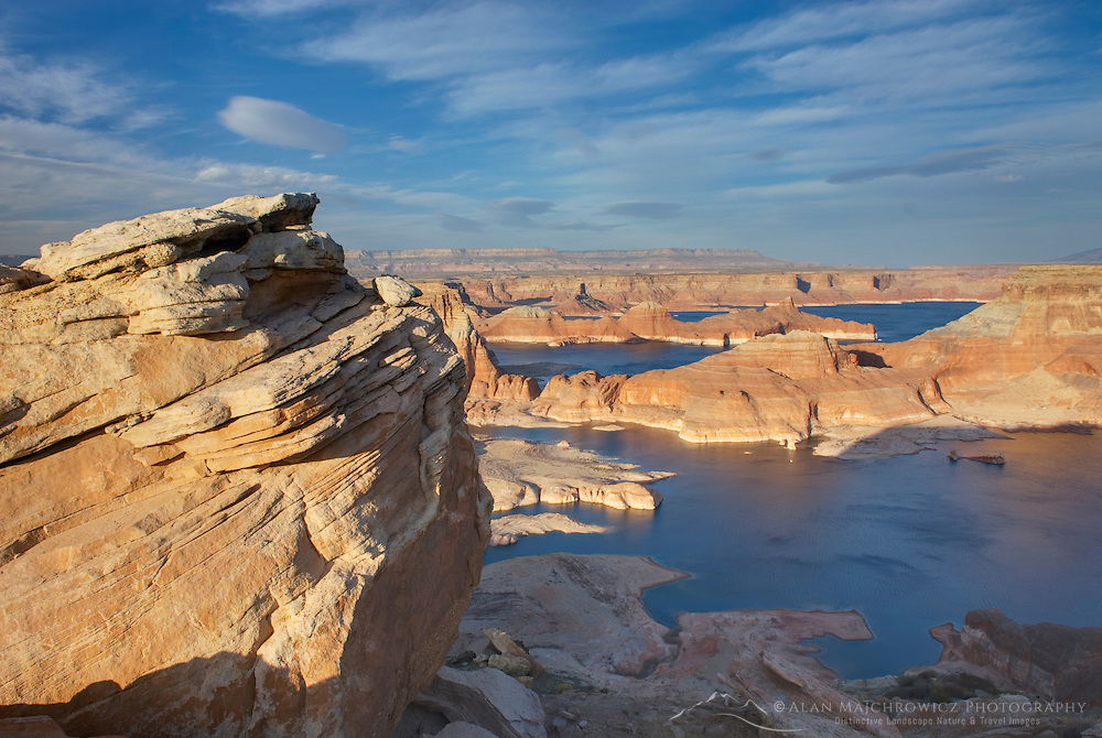 Padre Bay and Lake Powell from Alstrom Point, Glen Canyon National Recreation Area Utah