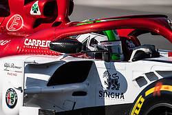 February 26, 2019 - Montmelo, BARCELONA, Spain - BARCELONA, SPAIN, 26th of February 2019. #99 Antonio GIOVINAZZI driver of Alfa Romeo Racing team during the winter test at Circuit de Barcelona Catalunya. (Credit Image: © AFP7 via ZUMA Wire)