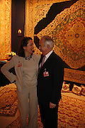 Caroline Imbe and Leon Sasson, New Collectors Evening. The Grosvenor House Art and Antiques Fair. 20 June 2006. ONE TIME USE ONLY - DO NOT ARCHIVE  © Copyright Photograph by Dafydd Jones 66 Stockwell Park Rd. London SW9 0DA Tel 020 7733 0108 www.dafjones.com