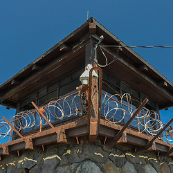 Fire Lookout on Mt. Tamalpais, Marin County, California, US