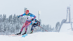 21.02.2016, Salpausselkae Stadion, Lahti, FIN, FIS Weltcup Langlauf, Lahti, Herren Skiathlon, im Bild Alexander Legkov (RUS) // Alexander Legkov of Russian Federation competes during Mens Skiathlon FIS Cross Country World Cup, Lahti Ski Games at the Salpausselkae Stadium in Lahti, Finland on 2016/02/21. EXPA Pictures © 2016, PhotoCredit: EXPA/ JFK