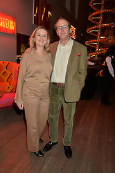 A party to celebrate the publication of renowned international fashion designer and icon Collette Dinnigan's book Obsessive Creative was held at the Ham Yard Hotel, One Ham Yard, London on 16th February 2015.<br /> Picture Shows:-JANE de TELIGA and SEBASTIAN ROUS.