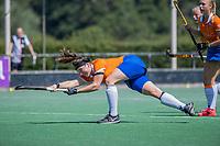 BLOEMENDAAL   - Demi Hilterman (Bldaal)   tijdens de oefenwedstrijd dames Bloemendaal-Victoria, te voorbereiding seizoen 2020-2021.   COPYRIGHT KOEN SUYK