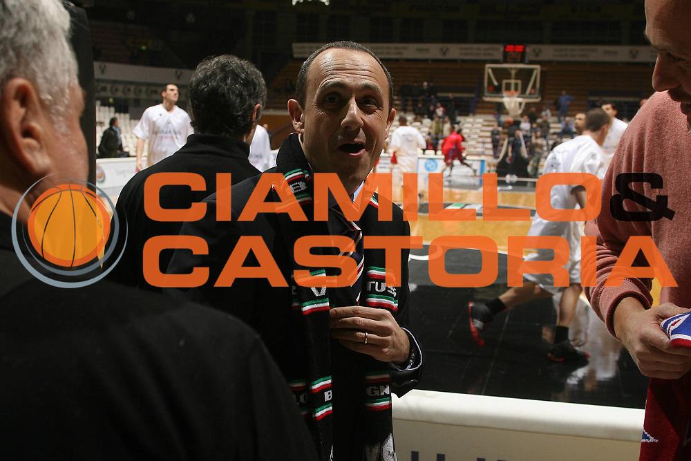 DESCRIZIONE : Bologna Eurolega 2007-08 Vidivici Virtus Bologna Cska Mosca<br /> GIOCATORE : Ettore Messina Tifosi<br /> SQUADRA : Cska Mosca<br /> EVENTO : Eurolega 2007-2008 <br /> GARA : Vidivici Virtus Bologna Cska Mosca<br /> DATA : 30/01/2008 <br /> CATEGORIA : Esultanza<br /> SPORT : Pallacanestro <br /> AUTORE : Agenzia Ciamillo-Castoria/M.Marchi