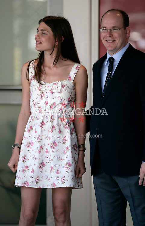 MONTE-CARLO, MONACO - Sunday, May 24, 2009: Charlotte Casiraghi, niece of Prince Albert II of Monaco, during the Monaco Formula One Grand Prix at the Monte-Carlo Circuit. (Pic by Juergen Tap/Hoch Zwei/Propaganda)