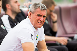 Marijan Pusnik, head coach of NK Rudar Velenje during football match between NK Triglav Kranj and NK Rudar Velenje in Round #27 of Prva Liga Telekom Slovenije 2017/18, on April 15, 2018 in Sports park Kranj, Kranj, Slovenia. Photo by Ziga Zupan / Sportida