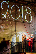 27-1-2018 LEEUWARDEN - King Willem-Alexander and Queen Máxima perform the official opening act of Leeuwarden-Fryslân 2018, European Capital of Culture (LF2018)Since 1985, two European cities have been elected European Capital of Culture annually, intended to show the richness and diversity of European cultures. The capitals establish a program that consists of events that put the historical and cultural heritage in the spotlight.<br />  ROBIN UTRECHT