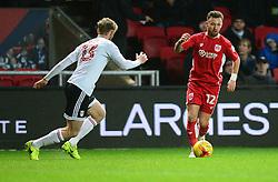 Matty Taylor of Bristol City presses forward. - Mandatory by-line: Alex James/JMP - 22/02/2017 - FOOTBALL - Ashton Gate - Bristol, England - Bristol City v Fulham - Sky Bet Championship