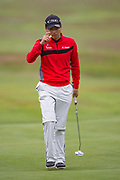 Wang Jeung-hun of South Korea during the British Masters 2018 at Walton Heath Golf Course, Walton On the Hill, Surrey on 14 October 2018. Picture by Martin Cole.