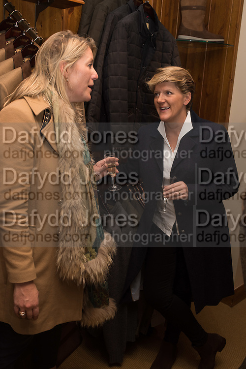Tatler and Dubarry host an evening with Clare Balding, Dubarry of Ireland, 34 Duke of York's Sq. London. 13 October 2016.