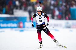 March 8, 2019 - –Stersund, Sweden - 190308 Tiril Eckhoff of Norway competes in the Women's 7.5 KM sprint during the IBU World Championships Biathlon on March 8, 2019 in Östersund..Photo: Johan Axelsson / BILDBYRÃ…N / Cop 245 (Credit Image: © Johan Axelsson/Bildbyran via ZUMA Press)