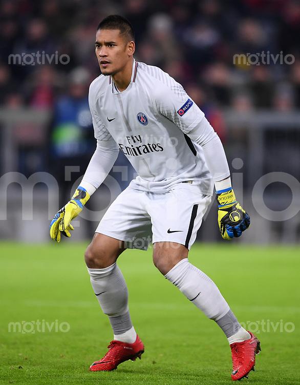 FUSSBALL CHAMPIONS LEAGUE SAISON 2017/2018 GRUPPENPHASE FC Bayern Muenchen - Paris Saint-Germain               05.12.2017 Torwart Alphonse Areola (Paris Saint-Germain)