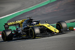 February 28, 2019 - Barcelona, Catalonia, Spain - the Renault of Daniel Ricciardo during the Formula 1 test in Barcelona, on 26th February 2019, in Barcelona, Spain. (Credit Image: © Joan Valls/NurPhoto via ZUMA Press)