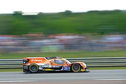 June 17, 2018 - Le Mans, Sarthe, France - G-Drive Racing ORECA 07 Gibson Driver ANDREA PIZZITOLA (FRA) in action during the 86th edition of the 24 hours of Le Mans 2nd round of the FIA World Endurance Championship at the Sarthe circuit at Le Mans - France (Credit Image: © Pierre Stevenin via ZUMA Wire)